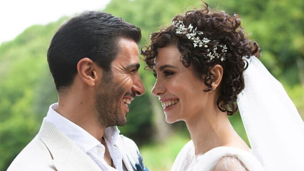 Songül Öden ile iş insanı Arman Bıçakçı evlendi! Mutluluğa 'Evet' dediler