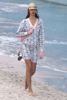 Yasmin Wijnaldum Chanel Spring 2019 Ready-to-Wear