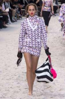 Michelle Gutknecht Chanel Spring 2019 Ready-to-Wear
