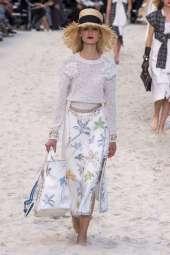 Alina Egorova Chanel Spring 2019 Ready-to-Wear