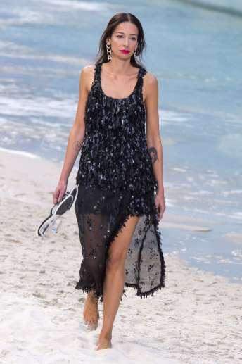 Amanda Sanchez Chanel Spring 2019 Ready-to-Wear