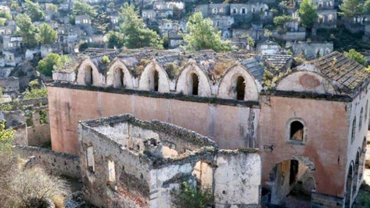 'Hayalet köy'ün tarihi kiliseleri restore edilecek
