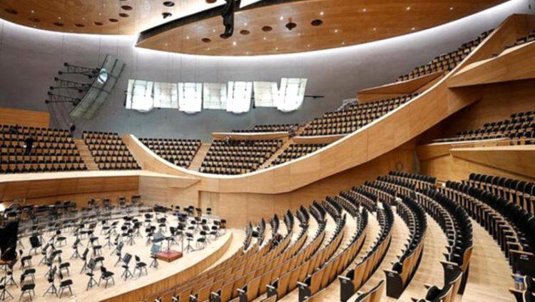 194 senelik Cumhurbaşkanlığı Senfoni Orkestrası'nın yeni binasına tarihi açılış