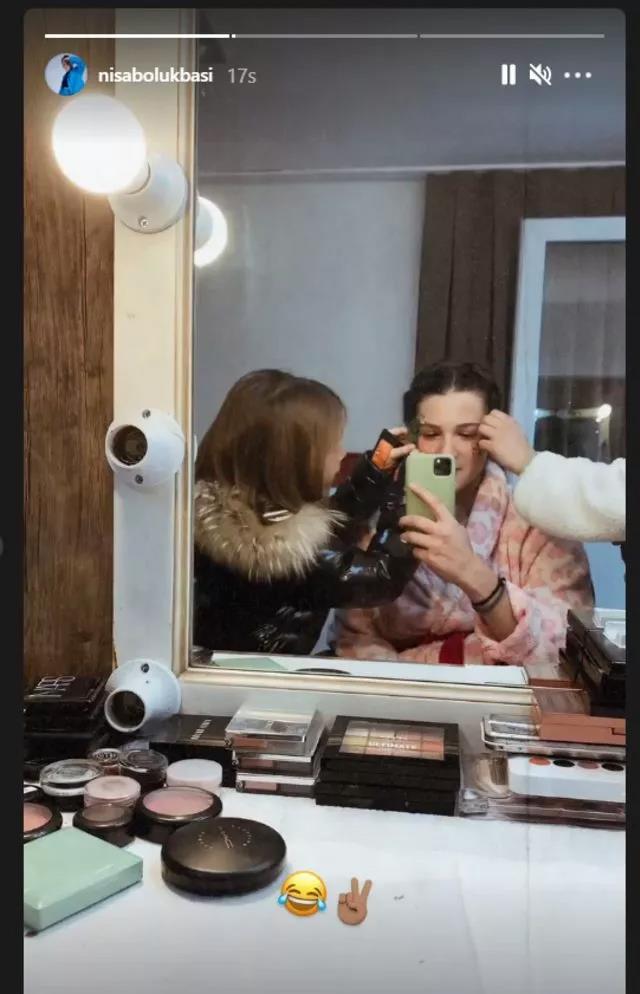 Barış Murat Yağcı ile videosu ifşa olan Nisa Bölükbaşı, Sihirli Annem dizisine transfer oldu