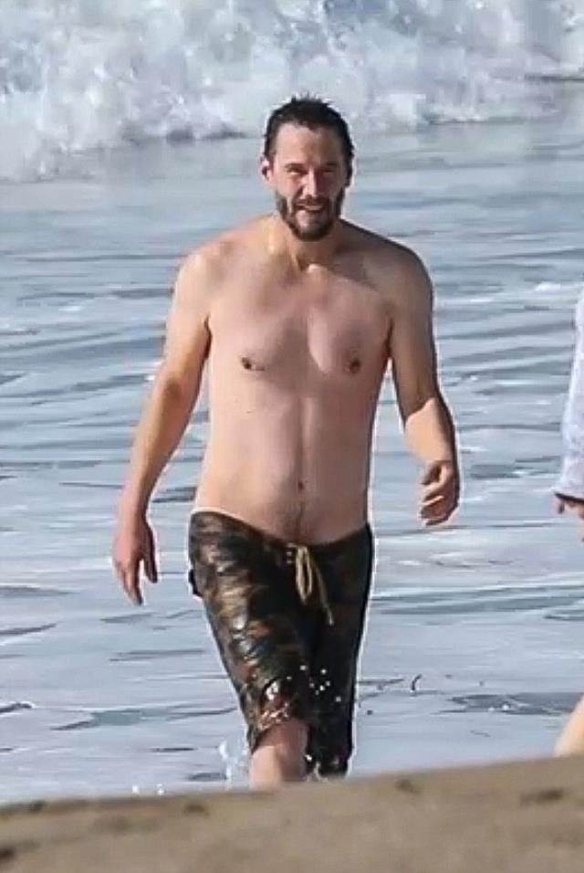 'Yaşlanmayan adam' denizden böyle çıktı