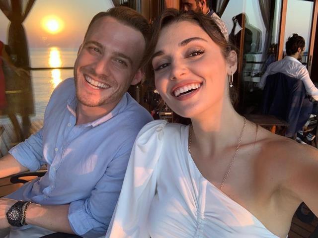 Hande Erçel ile Kerem Bürsin'in yakınlaşması aşk dedikodularını alevlendirdi