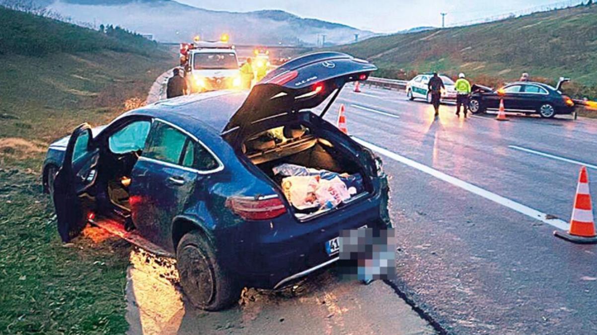 İzmir dönüşü korkunç kaza! Arabası takla atan Tolgahan Sayışman ölümden döndü