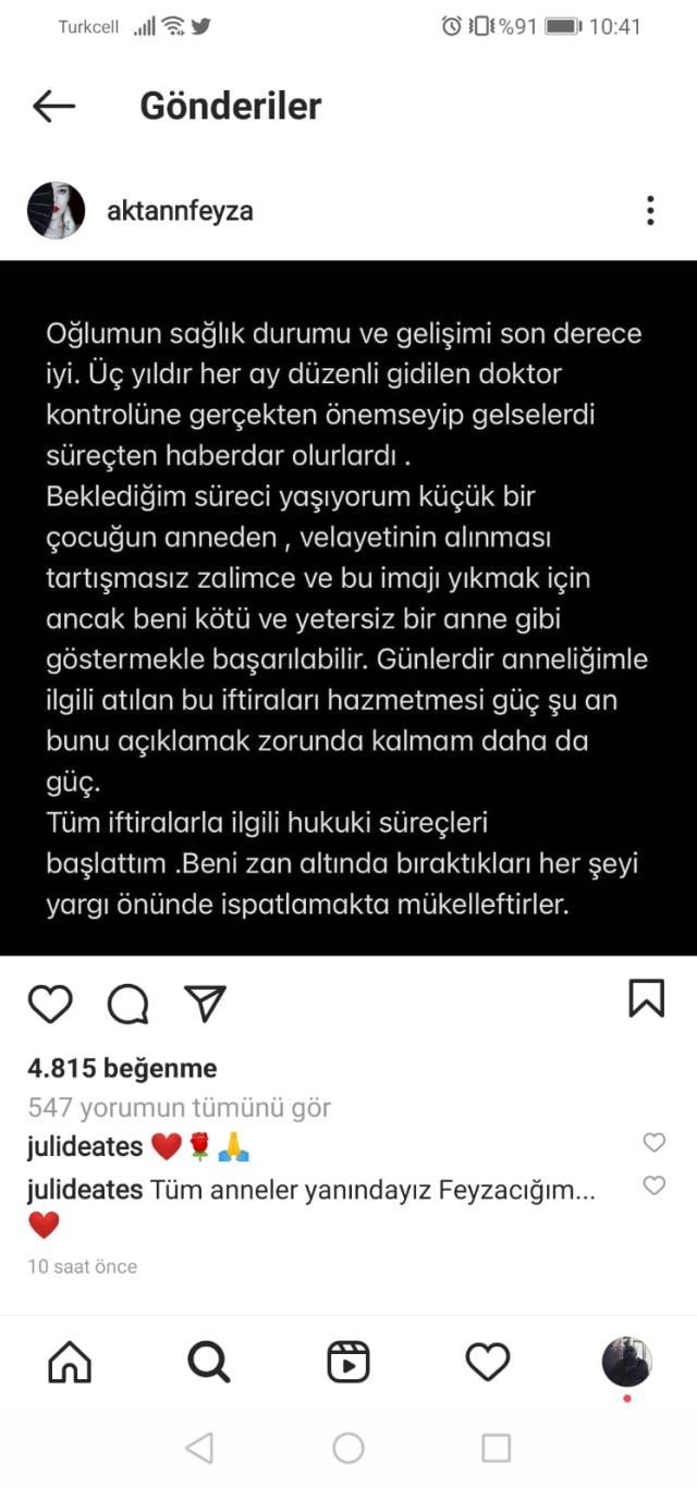 Özcan Deniz'in kardeşinden Feyza Aktan hakkında şok iddia: Sızdın kaldın ev yandı