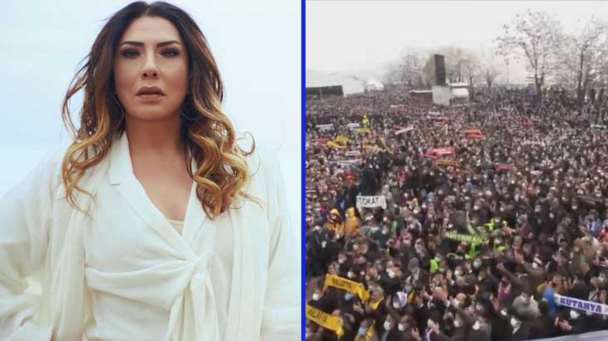 Işın Karaca, AK Parti Olağan Kongresi'ndeki sosyal mesafesiz kalabalığa tepki gösterdi