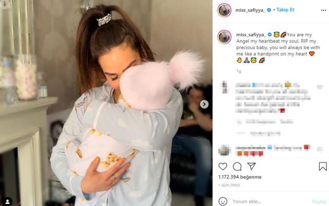 Ünlü yıldız Ashley Cain'in lösemi hastası 8 aylık bebeği hayatını kaybetti