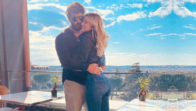 Oyuncu Can Yaman'ın evlilik teklifi ettiği sevgilisi Diletta Leotta, başka bir adamla öpüşürken yakalandı