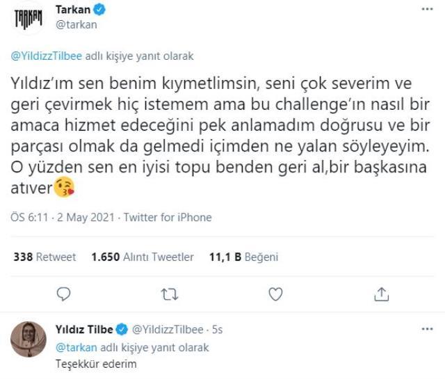 Yıldız Tilbe, sosyal medyada akım başlatıp Tarkan'a topu attı ama bin pişman oldu